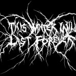 black metal label